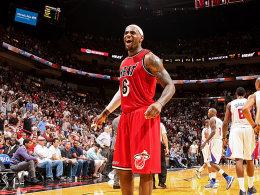 Heat on fire! Vor allem LeBron James, der gegen die Clippers wieder 30 Zähler einsammelte.