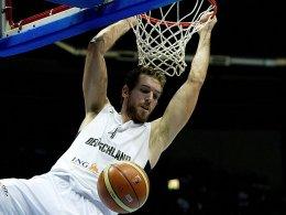 Trotz NBA-Vertrag in der Tasche muss auch Tim Ohlbrecht um seinen Startplatz im DBB-Team kämpfen.