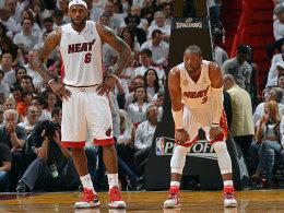 LeBron James und Dwyane Wade
