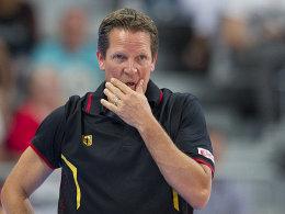 Bundestrainer Frank Menz