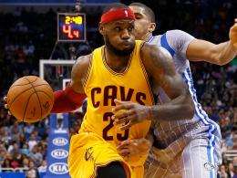 Fehlt den Cavaliers in den nächsten zwei Wochen: Superstar LeBron James.