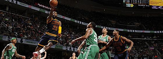 Lift-off #23! LeBron James führt die Cavs ins Duell mit den Celtics.