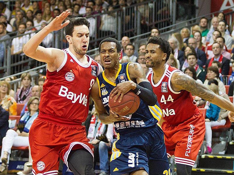 Bayern schl�gt zur�ck - Ausgleich gegen Alba - Basketball