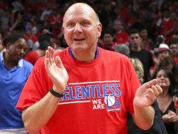 """""""Wir haben eines der Top-Teams der NBA, und nun haben wir einen neuen Look eingeführt, der frech, trendig und kraftvoll ist"""": Clippers-Besitzer Steve Ballmer erklärt die Logoänderung."""