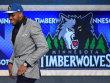 Die Nummer 1 im Draft 2015: Karl-Anthony Towns, der von den Minnesota Timberwolves ausgew�hlt wurde.