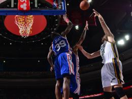 NBA-Deb�t und erste Punkte f�r Plei�