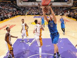 Dunk inklusive: Nowitzkis Galaabend besiegt Bryant und die Lakers