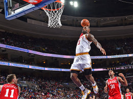Meilenstein per Monster-Dunk: LeBron James.