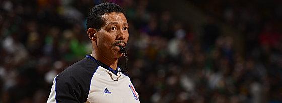 Leitet seit 18 Jahren NBA-Spiele: Referee Bill Kennedy.