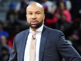 Derek Fisher ist nicht l�nger Knicks-Coach