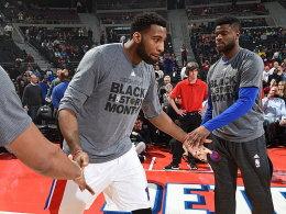 Ausgerechnet Drummond: Pistons-Center trifft aus 22 Metern!