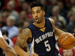 Verlässt die Memphis Grizzlies in Richtung Charlotte: Courtney Lee.