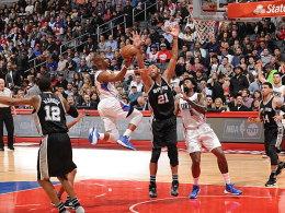 28 Punkte, 12 Assists: Chris Paul glänzte gegen die Spurs.