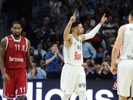 N�rnberg ist ausverkauft: Bamberg empf�ngt Real Madrid