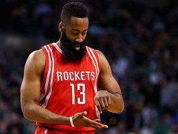 Dank Harden: Rockets �berholen Mavericks