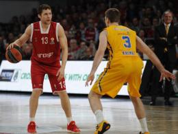 Basketball-Match: Bamberg gegen Moskau
