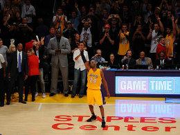 Abschied mit Solovorstellung: Kobe Bryant geht mit 60 Punkten