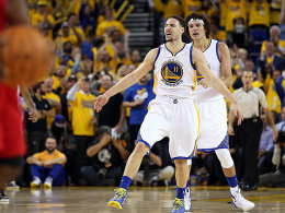 Warriors weiter! Thompson stopft die Curry-L�cke