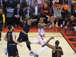 Playoff-Siegesserie der Cavaliers in Toronto gerissen