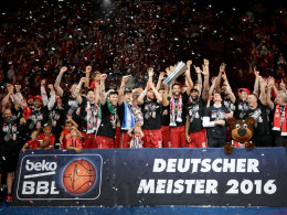 BBL-Spielplan: Meister Bamberg startet gegen Frankfurt