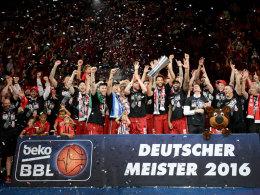 Bamberg startet als Meister gegen Frankfurt