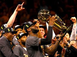 Nach 52 titellosen Jahren! Cleveland ist Meister