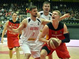DBB-Auswahl wendet Blamage gegen Österreich noch ab
