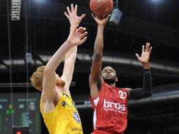 16 Punkte für Bamberg bei Braunschweig gingen auf das Konto von Darius Miller.