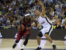 Knappe Niederlage in Barcelona