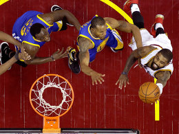 Warriors vs. Cavs am Christmas Day
