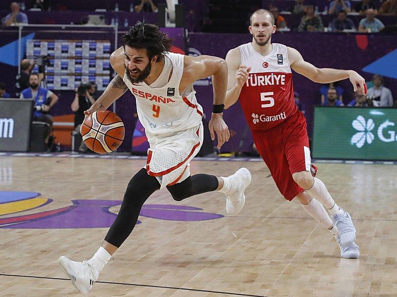 Basketball-EM, Viertelfinale: Rivale Ricky Rubio über Dennis ...