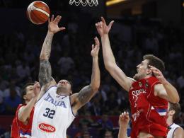 Serbien über Italien ins Halbfinale - Russland folgt