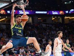 Slowenien schaltet Spanien aus und steht im Finale