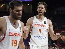Spanien tröstet sich mit Bronze