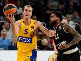 Bamberg unterliegt Maccabi - Harris fällt wieder aus