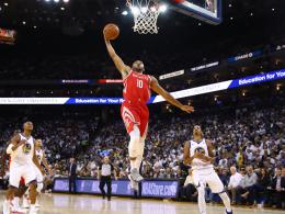Hardens Rockets düpieren Meister Golden State
