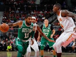 Irving hält Schröder nieder - Warriors im East-Coast-Style