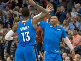 Westbrook demütigt KD - Dallas mit der Schlusssirene!