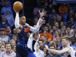 Siebtes Triple-Double für Westbrook