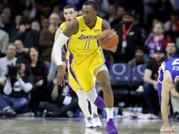 LeBron stoppt Bulls - Lakers-Guard muss ins Gefängnis