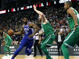Philly bricht ein! Celtics gewinnen Global Game