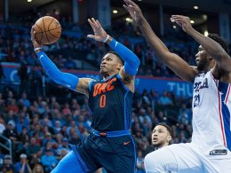 Trash Talk in Oklahoma: Westbrooks Thunder setzen Lauf fort