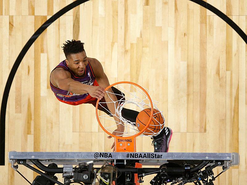 NBA-Allstar-Wochenende: Donovan Mitchell gewinnt Slam-Dunk-Contest ...