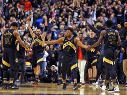 Spektakel in Toronto! Raptors beenden Rockets-Serie