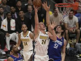 Nuggets sorgen für Hochspannung in der NBA