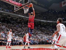 LeBron demütigt Toronto - Celtics-Comeback gegen Philly
