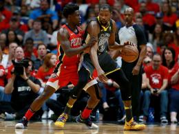 Durant führt Warriors zum klaren Sieg in New Orleans