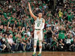 Wieder Vorteil Celtics: Rookie Tatum holt den Matchball