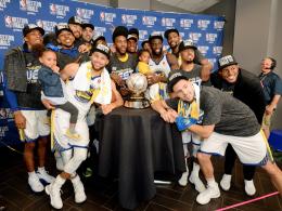 Alles wie gehabt: Warriors folgen den Cavs in die Finals