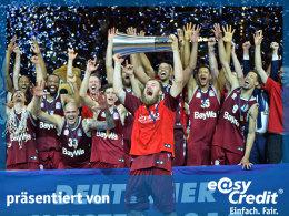 Klarer Sieg über Alba: Bayern ist Meister